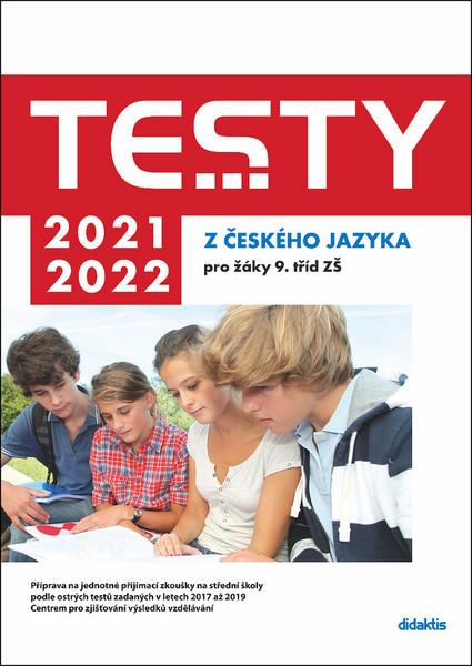 Testy 2021-2022 z českého jazyka pro žáky 9.tříd