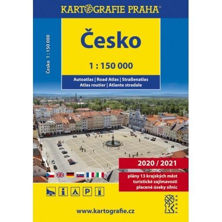 Česko - autoatlas 1 : 150 000
