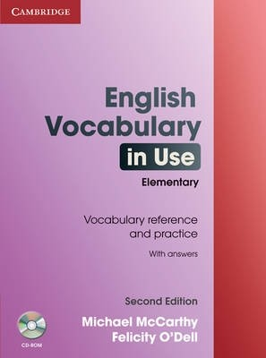 English Vocabulary in Use Elementary with answer and CD-ROM (Second Edition)