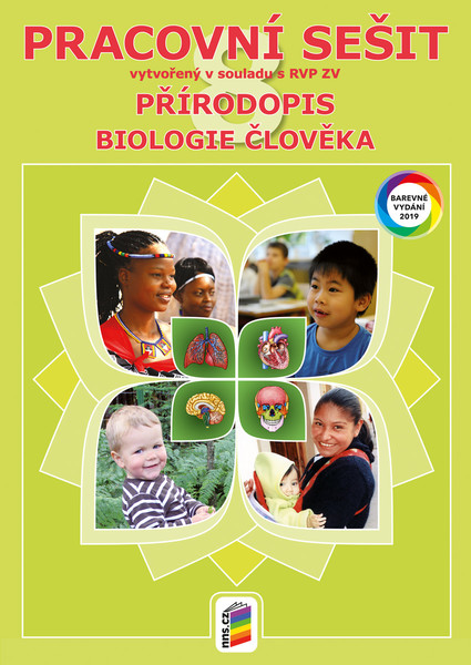 Přírodopis 8.r. - Pracovní sešit barevný (Biologie člověka)