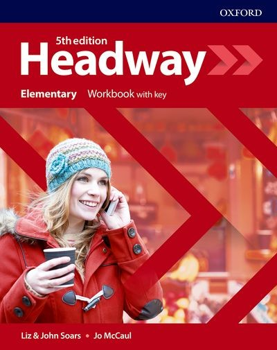 New Headway Fifth Edition Elementary Workbook with Answer Key