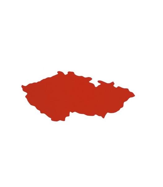 Obrysová mapka Česká republika