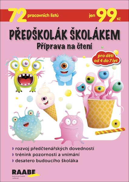 Předškolák školákem - Příprava na čtení