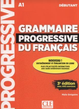 Grammaire Progressive du Francais - Niveau débutant - Livre (kniha)