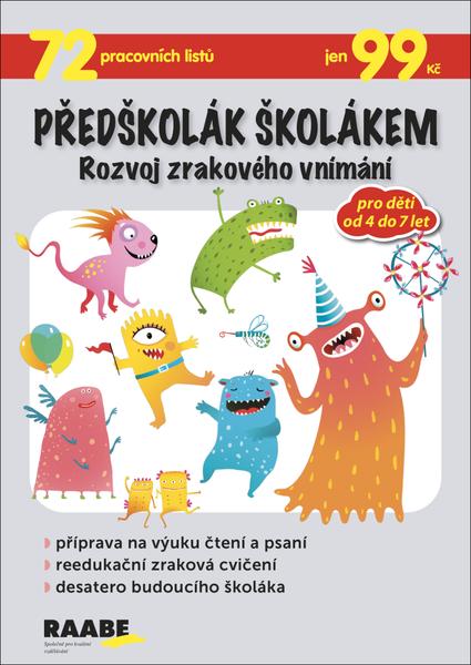 Předškolák školákem - Rozvoj zrakového vnímání