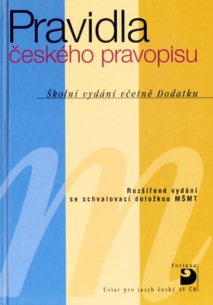 Pravidla českého pravopisu (vázaná)