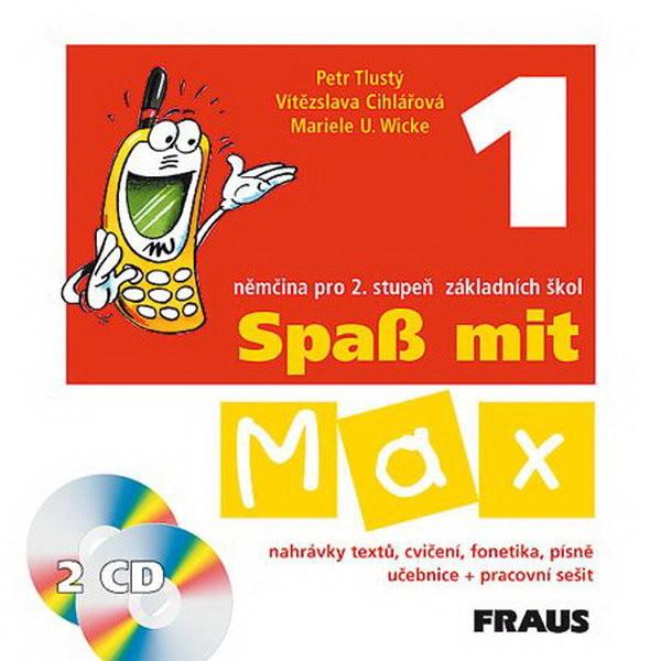 Spass mit Max 1 - audio CD k učebnici + pracovnímu sešitu