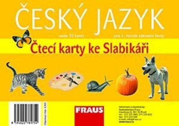 Slabikář - Čtecí karty pro 1.r. ZŠ