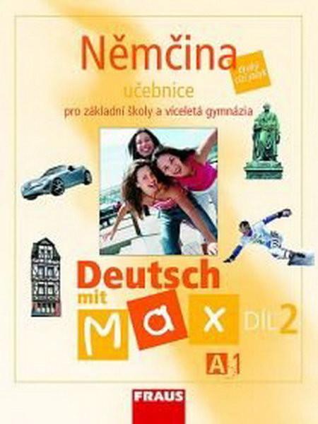 Deutsch mit Max 2 - učebnice (A1)