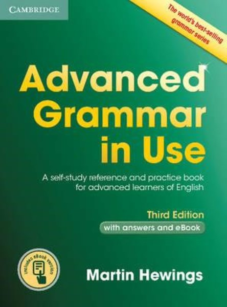 Advanced Grammar in Use with answers and eBook (Third Edition)