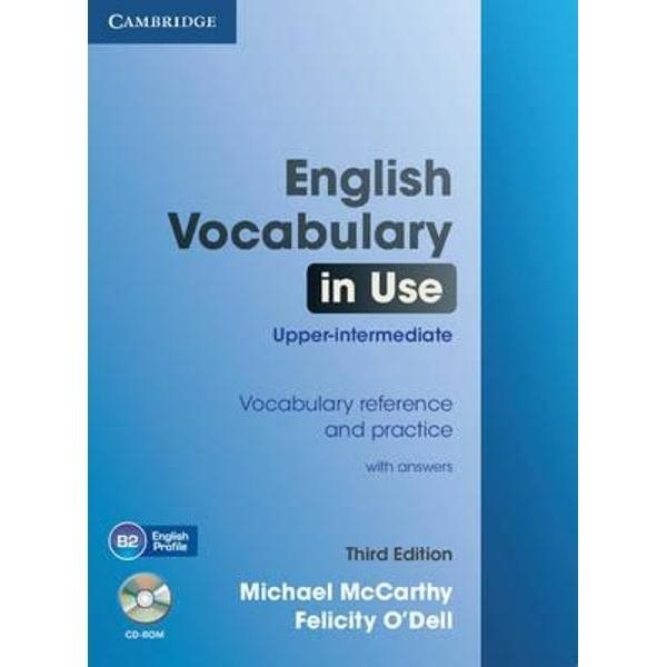 English Vocabulary in Use Upper-intermediate with answer and CD-ROM
