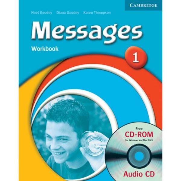 Messages 1 Workbook + AudioCD/CD-ROM (pracovní sešit s CD)