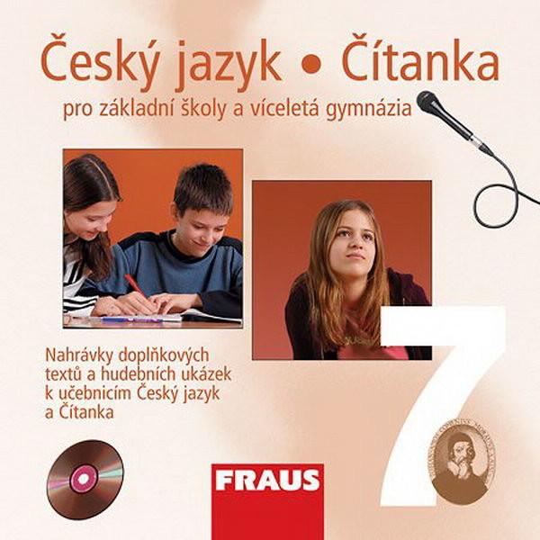 Český jazyk/Čítanka 7.r. ZŠ a víceletá gymnázia - audio CD