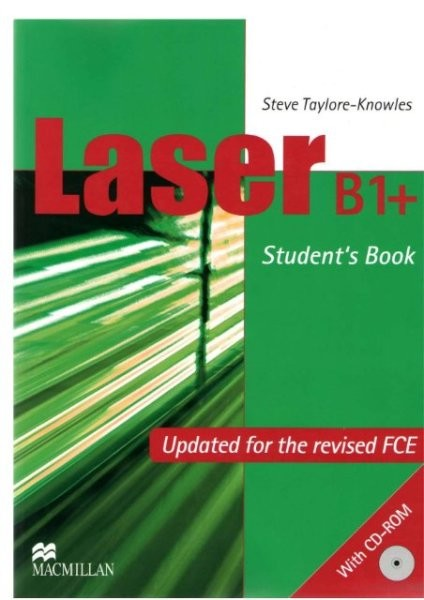 Laser B1+ NEW EDITION Student's Book + CD-ROM (učebnice)