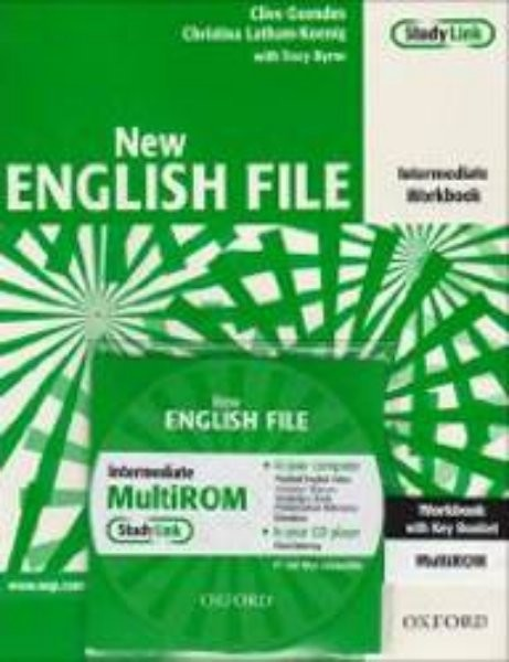 New English File Intermediate - Workbook with key + MultiROM (pracovní sešit)