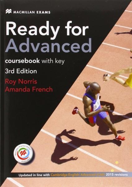 Ready for Advanced Coursebook with key 3rd Edition (učebnice s klíčem)