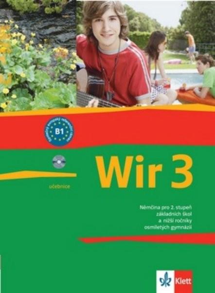 Wir 3 Němčina pro 2.stupeň ZŠ - učebnice