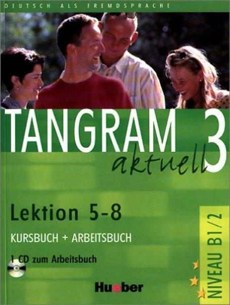 Tangram aktuell 3 (Lektion 5-8) Kursbuch + Arbeitsbuch + CD