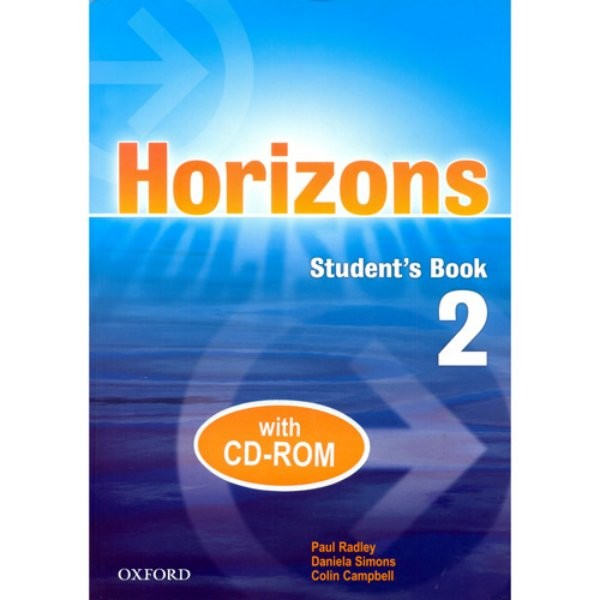 Horizons 2 Student´s Book with CD-ROM (učebnice + CD-ROM)