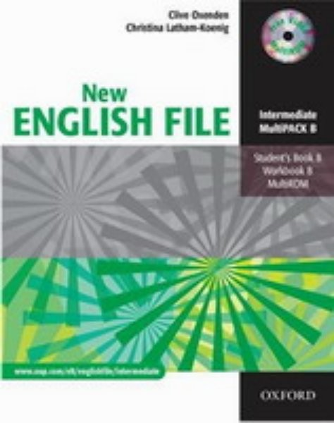 New English File Intermediate - Multipack B + CD-ROM