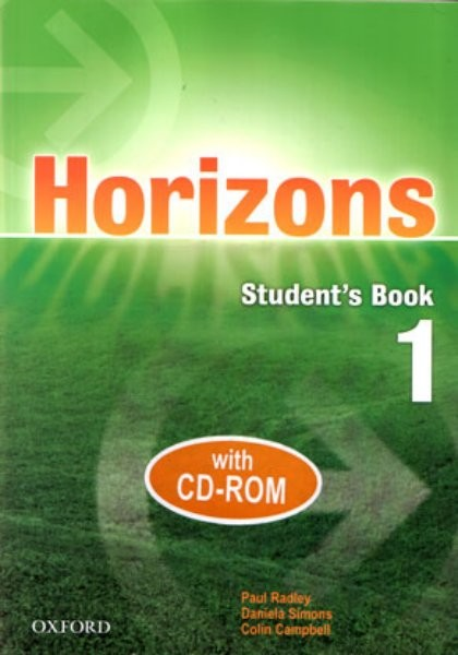 Horizons 1 Student´s Book with CD-ROM (učebnice + CD-ROM)