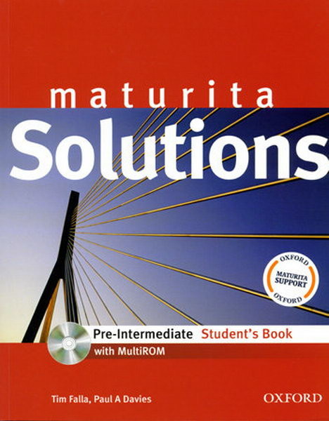 Maturita Solutions Pre-Intermediate Student's Book + CD-ROM (učebnice)