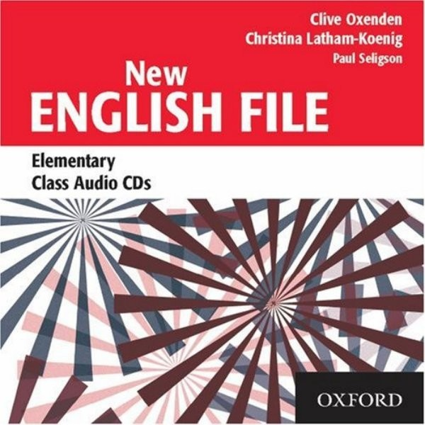 New English File Elementary - Class Audio CDs