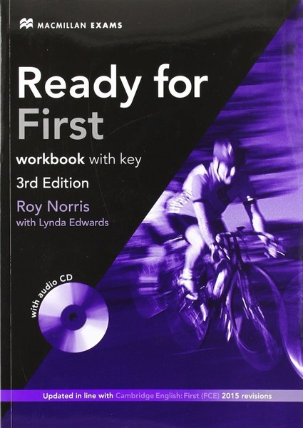 Ready for First Workbook with key 3rd Edition (pracovní sešit s klíčem)
