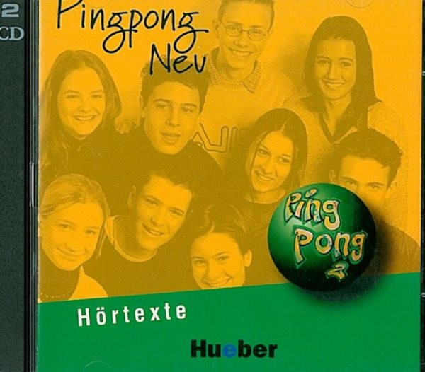 Pingpong Neu 2 Audio-CDs zum Lehrbuch