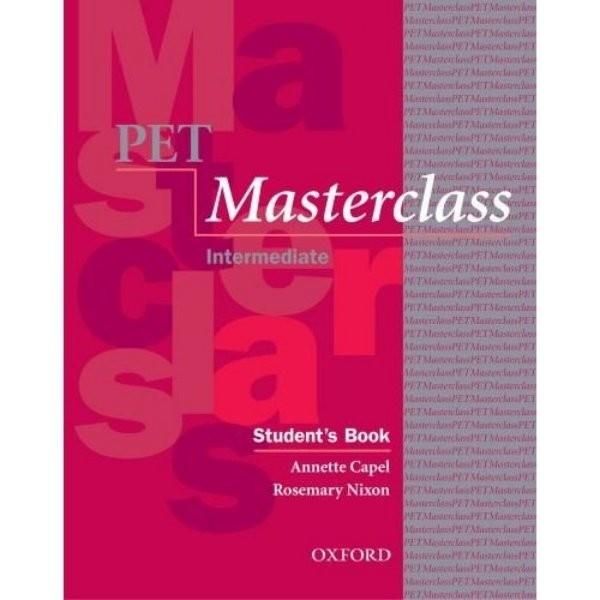 PET Masterclass Intermediate Students Book (učebnice)