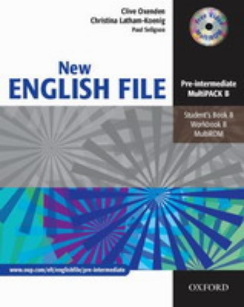 New English File Pre-Intermediate - Multipack B + CD-ROM