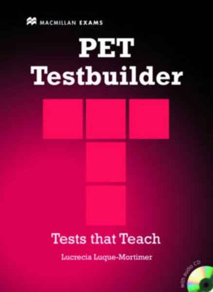 PET Testbuilder with answer key and audio CD