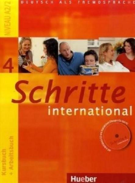 Schritte international 4 Paket - Kursbuch + Arbeitsbuch + CD + Glossar