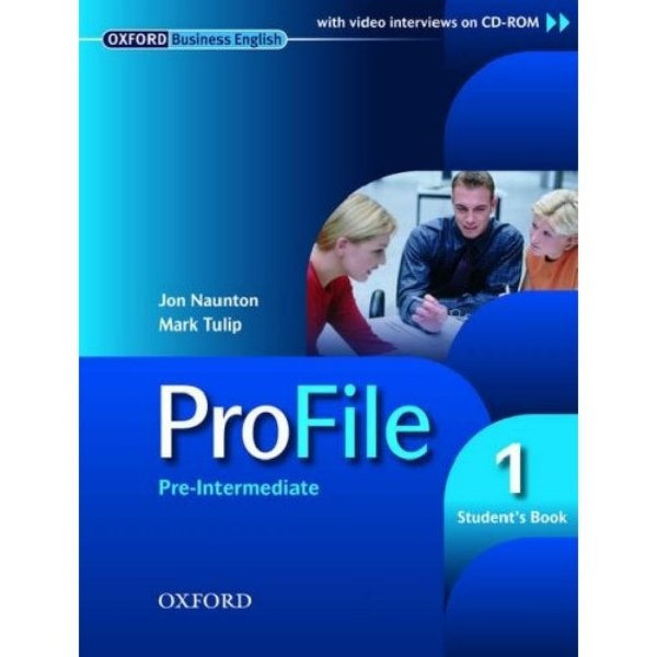 ProFile 1 Pre-intermediate Students Book with CD-ROM (učebnice)