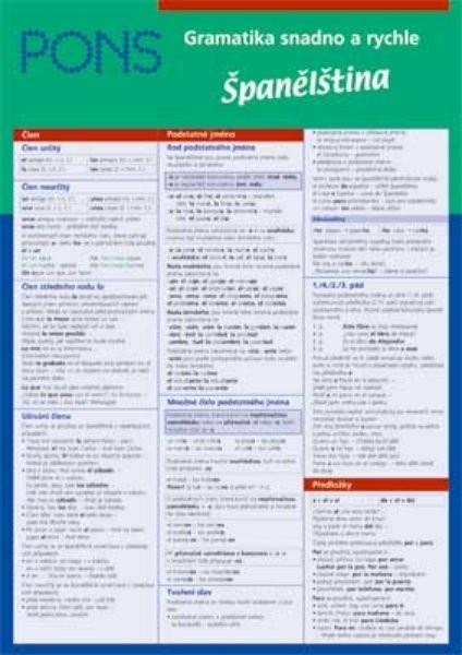 Gramatika snadno a rychle - Španělština