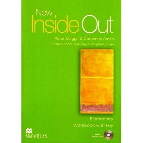 New Inside Out Elementary Workbook with key + audio CD (pracovní sešit s klíčem)