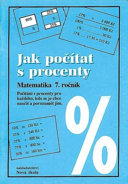 Jak počítat s procenty - matematika 7. ročník