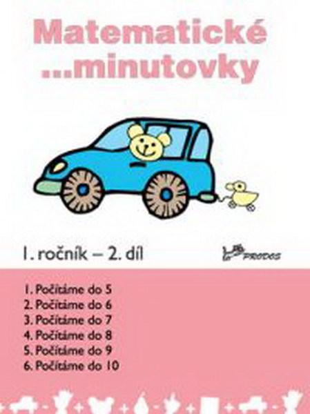 Matematické minutovky 1.r. - 2.díl