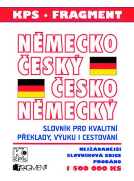 Německo - český, česko - německý slovník + gramatika a fráze