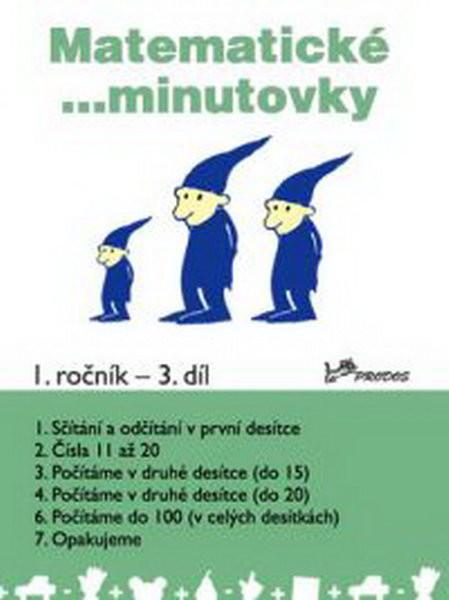 Matematické minutovky 1.r. - 3.díl