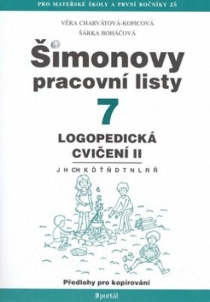Šimonovy pracovní listy 7 - logopedická cvičení II