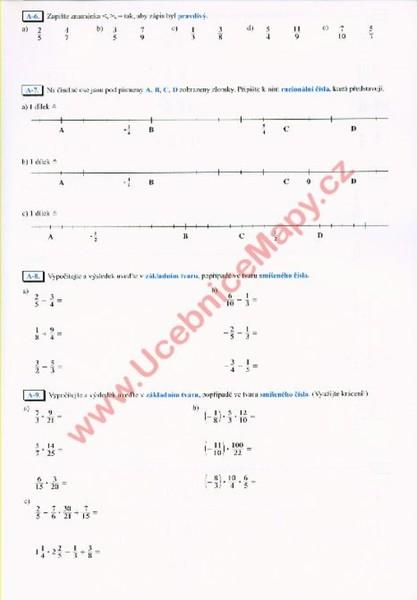 Matematika 8 R 1 Dil Pracovni Sesit Podle Novych Osnov