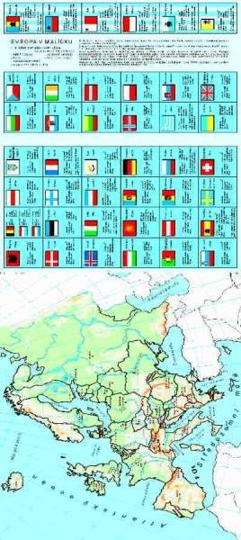 Evropa v malíčku