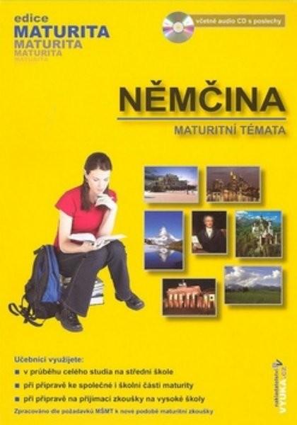 Němčina - maturitní témata + audio CD