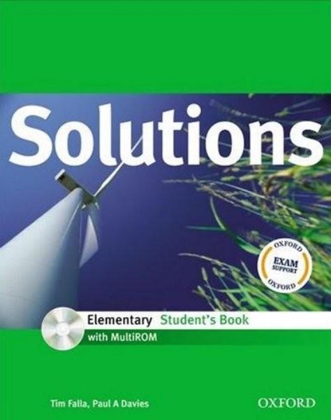 Maturita Solutions Elementary Student´s Book + CD-ROM (učebnice)