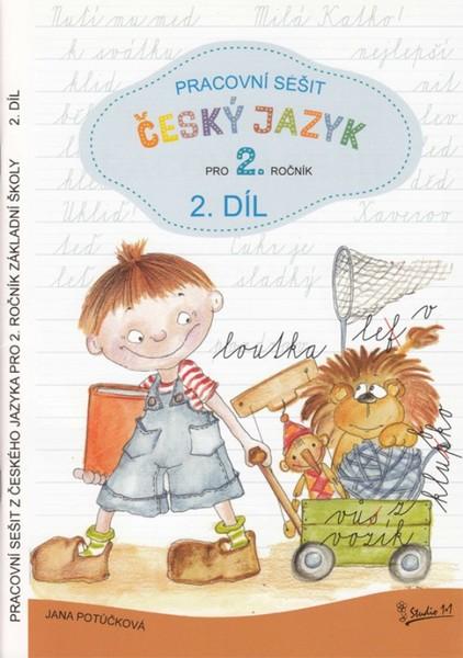 Český jazyk 2.ročník ZŠ - pracovní sešit 2.díl