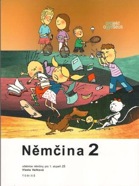 Němčina 2 pro 1.stupeň ZŠ - učebnice