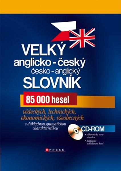 Velký anglicko-český a česko-anglický slovník + CD
