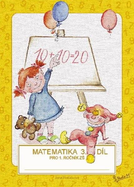 Matematika pro 1.třídu ZŠ 3.díl