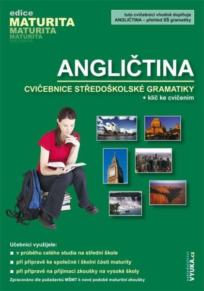 Angličtina - cvičebnice středoškolské gramatiky + klíč ke cvičením